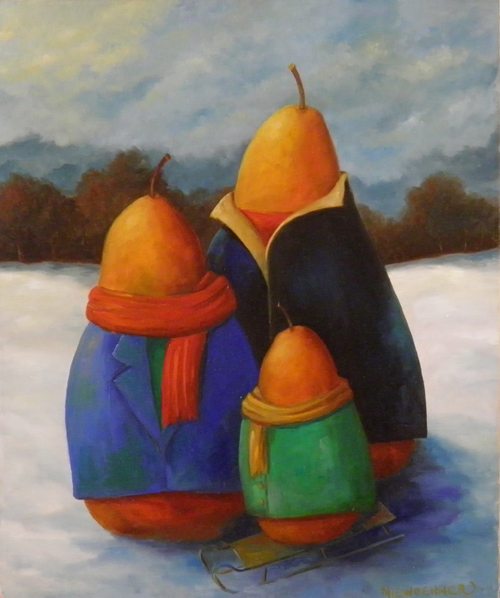Pears in Winter